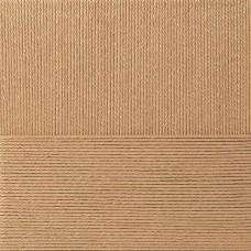 Пряжа для вязания ПЕХ Лаконичная (50% хлопок, 50% акрил) 5х100г/212м цв.270 мокрый песок
