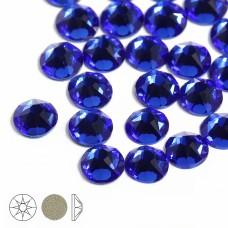 Стразы холодной фиксации Xirius 8+8 граней SS16 (3,8-4,0 мм) NH16-06 цв.Lt.Sapphire, уп.100шт