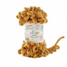 Пряжа для вязания Ализе Puffy (100% микрополиэстер) 5х100г/9.5м цв.716 леопард
