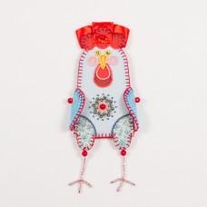 Набор для шитья и вышивания чехол на бутылку МП-19х16- 8320 Счастливый год