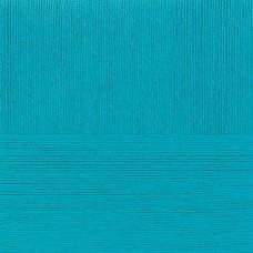 Пряжа для вязания ПЕХ Лаконичная (50% хлопок, 50% акрил) 5х100г/212м цв.045 т.бирюза
