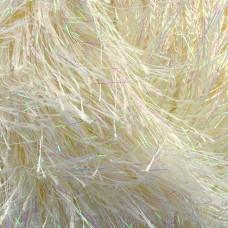 Пряжа для вязания Ализе Decofur Sim (20% металлик, 80% полиэстер) 5х100г/100м цв.0101 кремовый