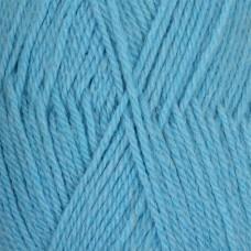 Пряжа для вязания ПЕХ Джинсовый Ряд (50% шерсть, 50% акрил) 10х100г/250м цв.1124 голубой меланж