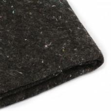 Наполнитель универсальный Шерстепон 150г/м² (30%шерсть / 70%ПЭ волокно) шир.150х100см цв.графит