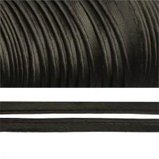 Кант TBY атласный шир.11мм цв.F322 (060) черный уп.65,8м