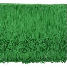 Бахрома шелковая FD-10 шир.10см цв.118 зеленый уп.10м