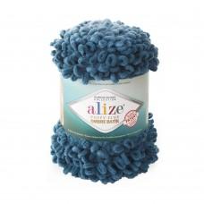 Пряжа для вязания Ализе Puffy Fine Ombre Batik (100% микрополиэстер) 1х500г/73м цв.7263