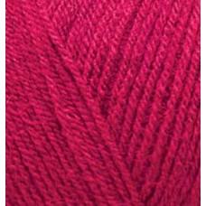 Пряжа для вязания Ализе Superlana TIG (25% шерсть, 75% акрил) 5х100г/570 м цв.390 т.красный
