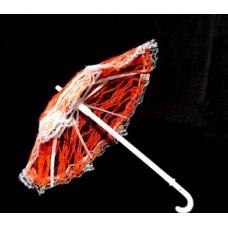 Зонт большой КЛ.22954 26см гипюр цв.оранжевый
