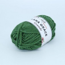 Пряжа для вязания ТРО LANA GRACE Grande (25% мериносовая шерсть, 75% акрил супер софт) 5х100г/65м цв.8101 меланж (аспарагус)