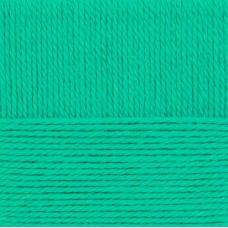 Пряжа для вязания ПЕХ Народная традиция (30% шерсть, 70% акрил) 10х100г/100м цв.411 мятный