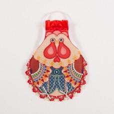 Набор для шитья и вышивания фартук МП-14х18- 8318 На удачу