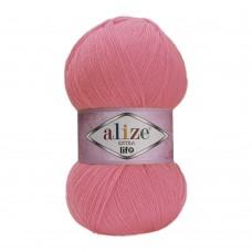 Пряжа для вязания Ализе Extra Life (100% акрил) 5х100г/480м цв.930 розовый