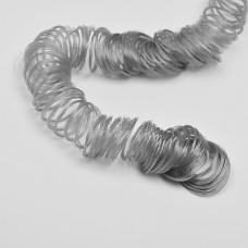 Волосы для кукол КЛ.22447-5 кудряшки длина уп.180см цв.серый