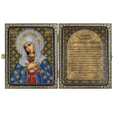 Наборы для вышивания бисером НОВА СЛОБОДА СА7106 Образ Пресв. Богородицы Умиление