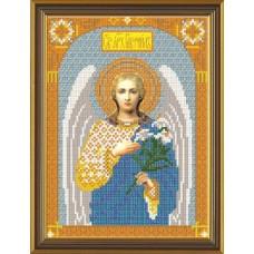 Наборы для вышивания бисером НОВА СЛОБОДА С 9005 Архангел Гавриил 18x24 см