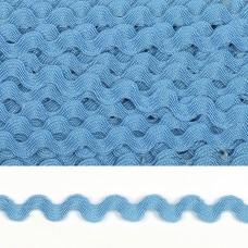 Тесьма декоративная Вьюнчик TBY.64312 шир.5мм цв.F331 голубой уп.32,92м