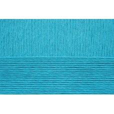 Пряжа для вязания ПЕХ Хлопок Натуральный летний ассорт (100% хлопок) 5х100г/425 цв.583 бирюза