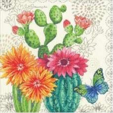 Набор для вышивания DIMENSIONS DMS-70-35388 Кактусы в цвету