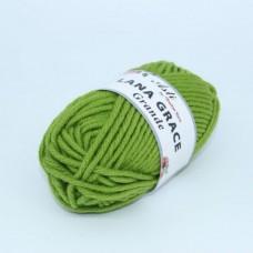 Пряжа для вязания ТРО LANA GRACE Grande (25% мериносовая шерсть, 75% акрил супер софт) 5х100г/65м цв.1550 аспарагус