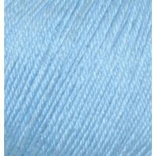 Пряжа для вязания Ализе Baby Wool (20% бамбук, 40% шерсть, 40% акрил) 10х50г/175м цв.350 св.голубой