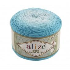 Пряжа для вязания Ализе Bella Ombre Batik (100% хлопок) 2х250г/900м цв.7409