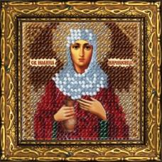 Набор для вышивания Вышивальная мозаика  232ПМИ Св.Прав.Иоанна-Мироносица 6,5х6,5 см