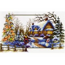 Набор для вышивания Classic Design 8307 Зимнее волшебство 44х28 см
