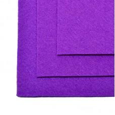Фетр листовой жесткий IDEAL 1мм 20х30см FLT-H1 уп.10 листов цв.620 фиолетовый