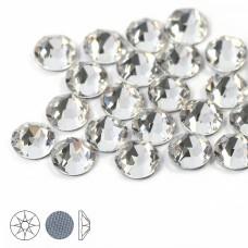 Стразы термоклеевые Xirius 8+8 граней SS12 (3,0-3,2 мм) HF12-1.100 цв.Crystal, уп.100шт