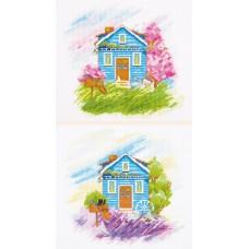 Набор для вышивания PANNA ДЕ-7003 Времена года: Весна, Лето 39 x 18 см
