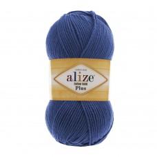Пряжа для вязания Ализе Cotton gold plus (55% хлопок, 45% акрил) 5х100г/200м цв.279 джинс