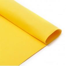 Фоамиран Magic 4 Hobby в листах MG.N027 цв.желтый, 1 мм 50х50 см