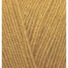 Пряжа для вязания Ализе Superlana TIG (25% шерсть, 75% акрил) 5х100г/570 м цв.002 т.желтый