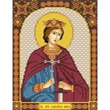 Наборы для вышивания бисером НОВА СЛОБОДА С 9216 Св.Мч.Эдуард (Эдвард) король Английский 18x23 см