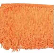 Бахрома шелковая FD-15 шир.15см цв.025 оранжевый уп.10м