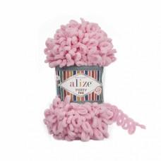 Пряжа для вязания Ализе Puffy Fine (100% микрополиэстер) 5х100г/14м цв.638 розовый
