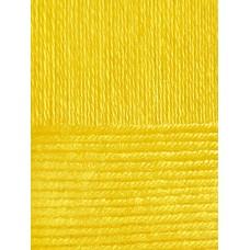 Пряжа для вязания ПЕХ Вискоза натуральная (100% вискоза) 5х100г/400м цв.012 желток