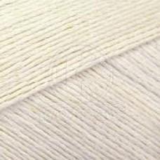 Пряжа для вязания КАМТ Ананасовая (55% ананасовое волокно, 45% хлопок) 5х100г/250м цв.002 отбелка