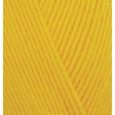 Пряжа для вязания Ализе Happy Baby (65% акрил, 35% полиамид) 5х100г/350м цв.216 желтый