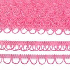 Тесьма отделочная UU цв.139 (R015) розовый шир.18-19мм уп.16,45м