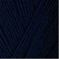 Пряжа для вязания ПЕХ Детский каприз трикотажный (50% мериносовая шерсть, 50% фибра) 5х50г/400м цв.004 т.синий