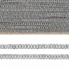 Тесьма отделочная 919 шир.6 мм цв.золото уп.25,13м