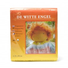 T10003 DE WITTE ENGEL Телесный трикотаж для вальдорфских кукол 25х80см цв.серовато-бежевый