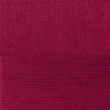 Пряжа для вязания ПЕХ Классический хлопок (100% мерсеризованный хлопок) 5х100г/250м цв.007 бордо