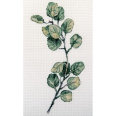 Набор для вышивания PANNA  C-7296 Веточка эвкалипта 21х30 см