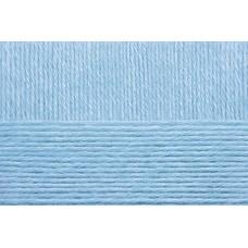 Пряжа для вязания ПЕХ Детский каприз тёплый (50% мериносовая шерсть, 50% фибра) 10х50г/125м цв.005 голубой