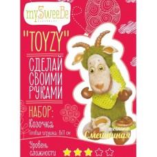 Набор для изготовления текстильной игрушки Toyzy TZ-M001 Коза Смешанный
