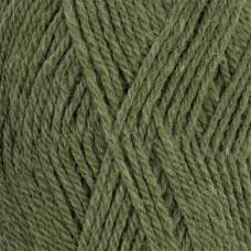 Пряжа для вязания ПЕХ Джинсовый Ряд (50% шерсть, 50% акрил) 10х100г/250м цв.1099 оливковый меланж
