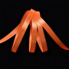 Лента атласная 1/4 (6мм) цв.3070 оранжевый IDEAL уп.27,4 м